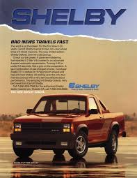 dodge shelby dakota lost cars of the 1980s 1989 dodge shelby dakota dodge mopar
