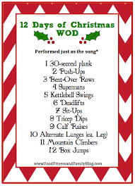 12 days of workout fitness friday http www