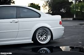 bmw m3 stanced snow white stancenation form u003e function