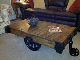 Industrial Cart Coffee Table Coffee Tables Attractive Antique Industrial Cart Coffee Table