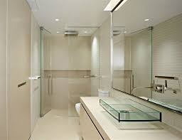 bathroom 2017 curved clear glass shower in fresh small