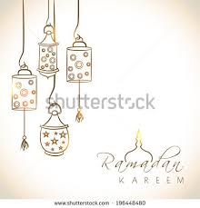 Design Greetings Cards Islamic Vector Design Greeting Card Template Stock Vector