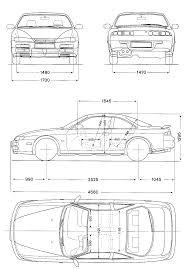 nissan silvia drawing s14 kouki personal 3d project tarrant graham