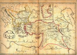 map arab afternoon map the most beautiful 19th century arabic maps of