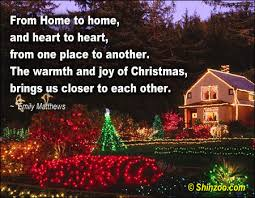 christmas quotes 030 the warmth of being close together