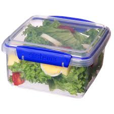 Storage Containers South Africa - sistema klip it 1 2 litre lunch plus rectangular food storage