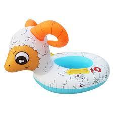bouée siège pour bébé eozy bouée siège gonflable pour bébé enfant forme mouton piscine