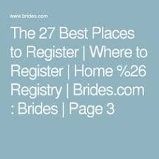 where can i register for my wedding in which a registry store loses our business by ignoring my