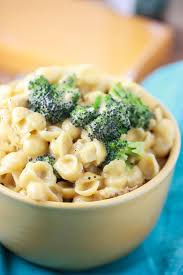creamy shells n u0027 cheese with chicken and broccoli eat live run