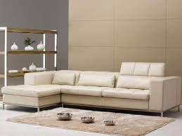 Beige Leather Sofas by Sofa 20 Modern Minimalist Design Small Sectional Sofa On The