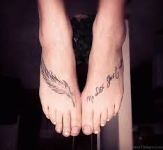 65 amazing feather tattoos on