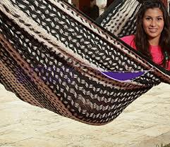 amazon com savannah large thick cord mayan hammock black and