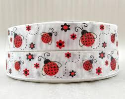 ladybug ribbon etsy