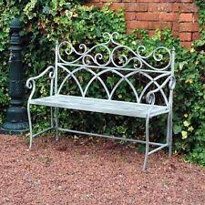 Wrought Iron Bench Wood Slats Wrought Iron Bench Ebay