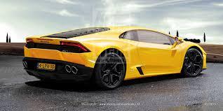 Lamborghini Gallardo Back - lamborghini cabrera could look this good when it replaces gallardo