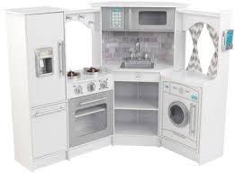 Kidkraft Urban Espresso Kitchen - kidkraft ultimate corner kitchen with lights u0026 sounds white
