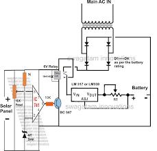 electric diagram of ac generator patent us4999563 separately