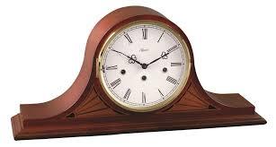 Howard Miller Chiming Mantel Clock Clocks London Clock Company Station Mantel Clocks In Black For