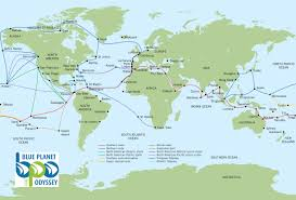 Alaska Route Map by Map Of Sailing Route Imagine