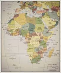 africa map fabric africa map print poster by dallianceprints on etsy 17 95