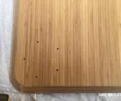 ikea bamboo table top salient photo ikea desk tutorial all things new interiors to