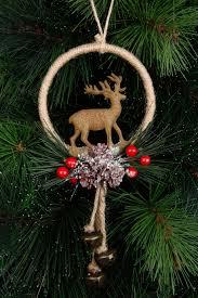 australian house u0026 garden eucalyptus jute wreath with deer