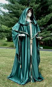 fantasy green wizard s robe by designsbyladyfaire mage robes