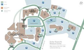 sutter roseville medical center campus map