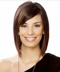 brunette easy hairstyles easy short brunette prom hairstyles with side bangs for straight and