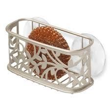 Kitchen Sink Holder by Buy Interdesign Sponge Holder From Bed Bath U0026 Beyond