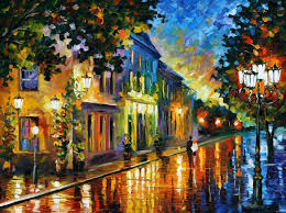 Best Paintings by Afremov Oil On Canvas Palette Knife Buy Original Paintings Art