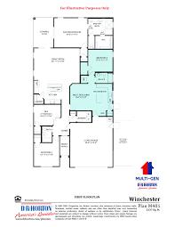 dr horton floor plan winchester rancho cabrillo peoria arizona d r horton