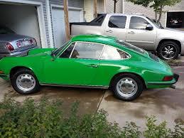 Porsche 911 Interior Color Codes 1973 Porsche 911t Coupe Matching Numbers Color Code Emerald