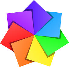 clipart color star 2