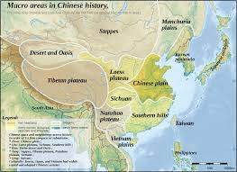 Ancient China Map Ancient Chinese Geography Map