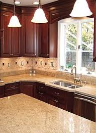 kitchen ideas cherry cabinets shop shenandoah bluemont 13 in x 14 5 in bordeaux cherry square