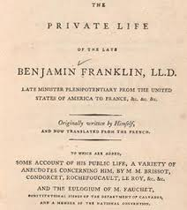benjamin franklin u0027s autobiography finding franklin a resource