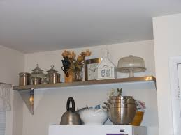 decorating kitchen shelves ideas stylish kitchen shelves ideas on home remodel plan with kitchen