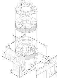 round house floor plans circular plans instagram bibliocad buildings architecture white