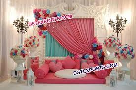 wedding backdrop panels modern wedding stage fiber panel wedding stage dstexports