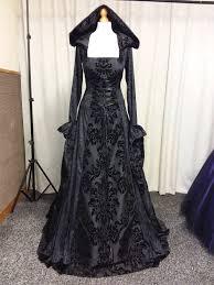 gothic dress black medieval dress prom gown renaissance