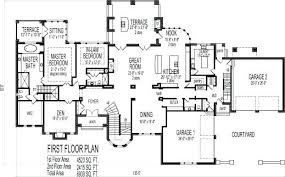 2 story house plans with basement 5 bedroom home plans lidovacationrentals