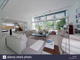 open plan living room the glass house petersham middlesex open plan living room the glass house petersham middlesex england