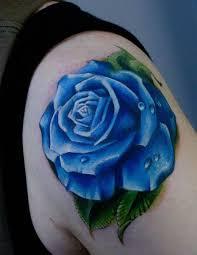 30 best blue rose tattoo images on pinterest blue rose tattoos