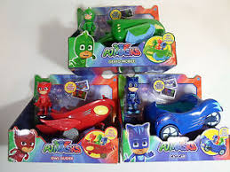 pj masks vehicle gekko mobile cat car owl glider owlette catboy
