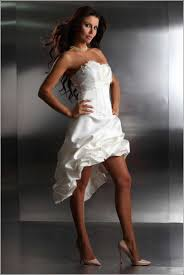 brautkleid vorne kurz designer brautkleid vorne kurz hinten lang modische kleider in