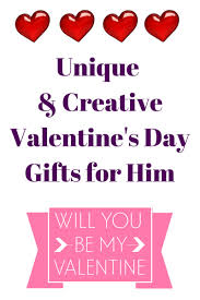 unique u0026 creative valentine u0027s day gifts for him