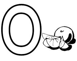 100 ideas letter o coloring page on www gerardduchemann com