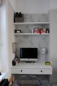 small kitchen desk ideas wonderful built in desk ideas for small spaces top office design