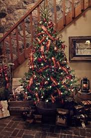 ribbon christmas tree how to put ribbon on a christmas tree christmas decoration ideas